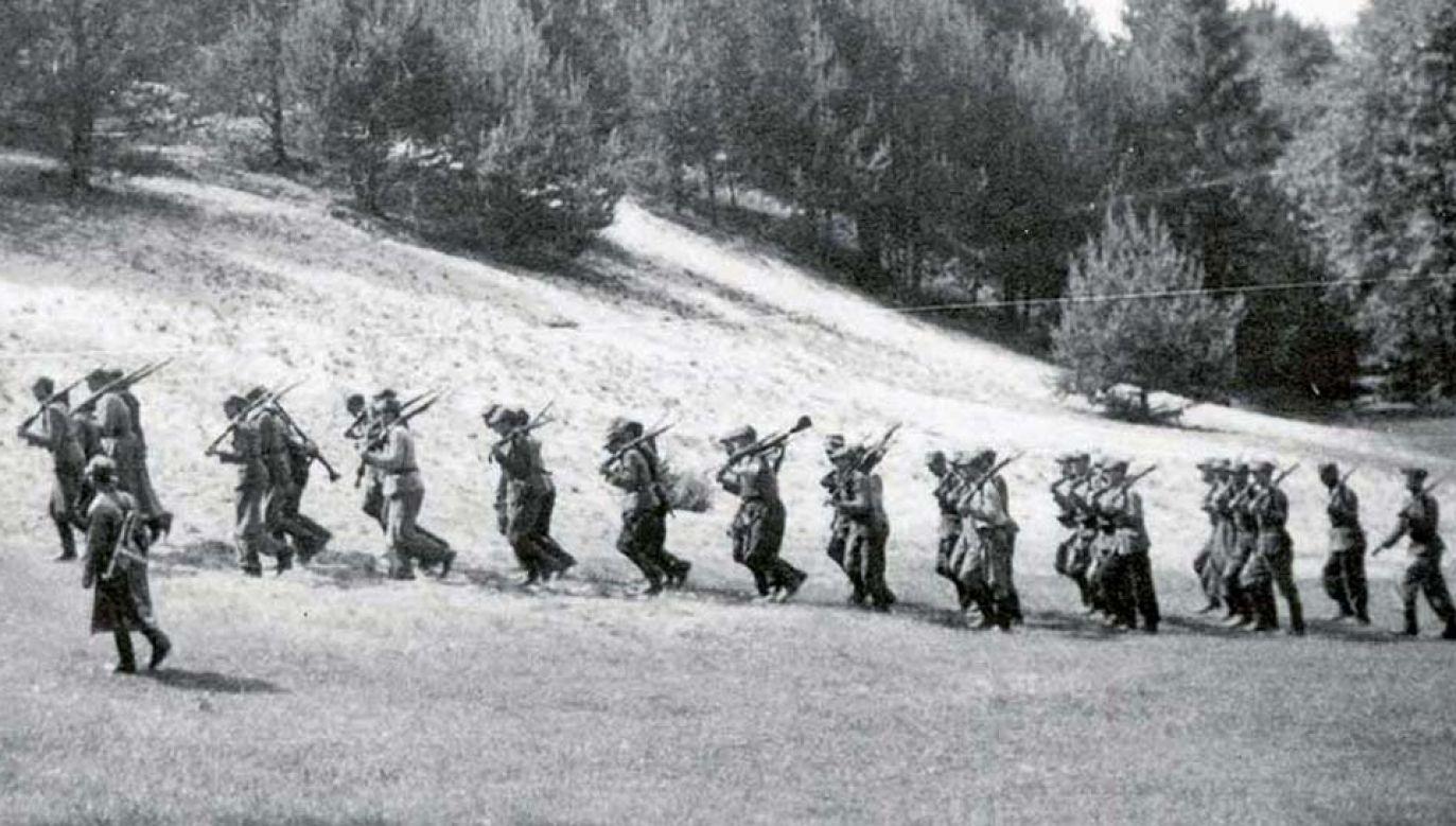 """Partyzanci mjr. """"Orlika"""" dawali się komunistom we znaki (fot. IPN)"""