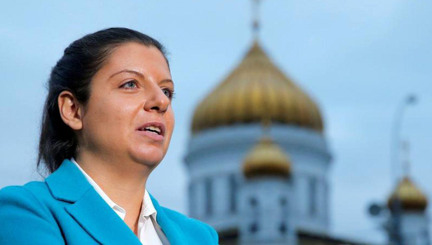 Simonian wzywa do akcji #Niewstydziszsię (fot. REUTERS/Maxim Shemetov)