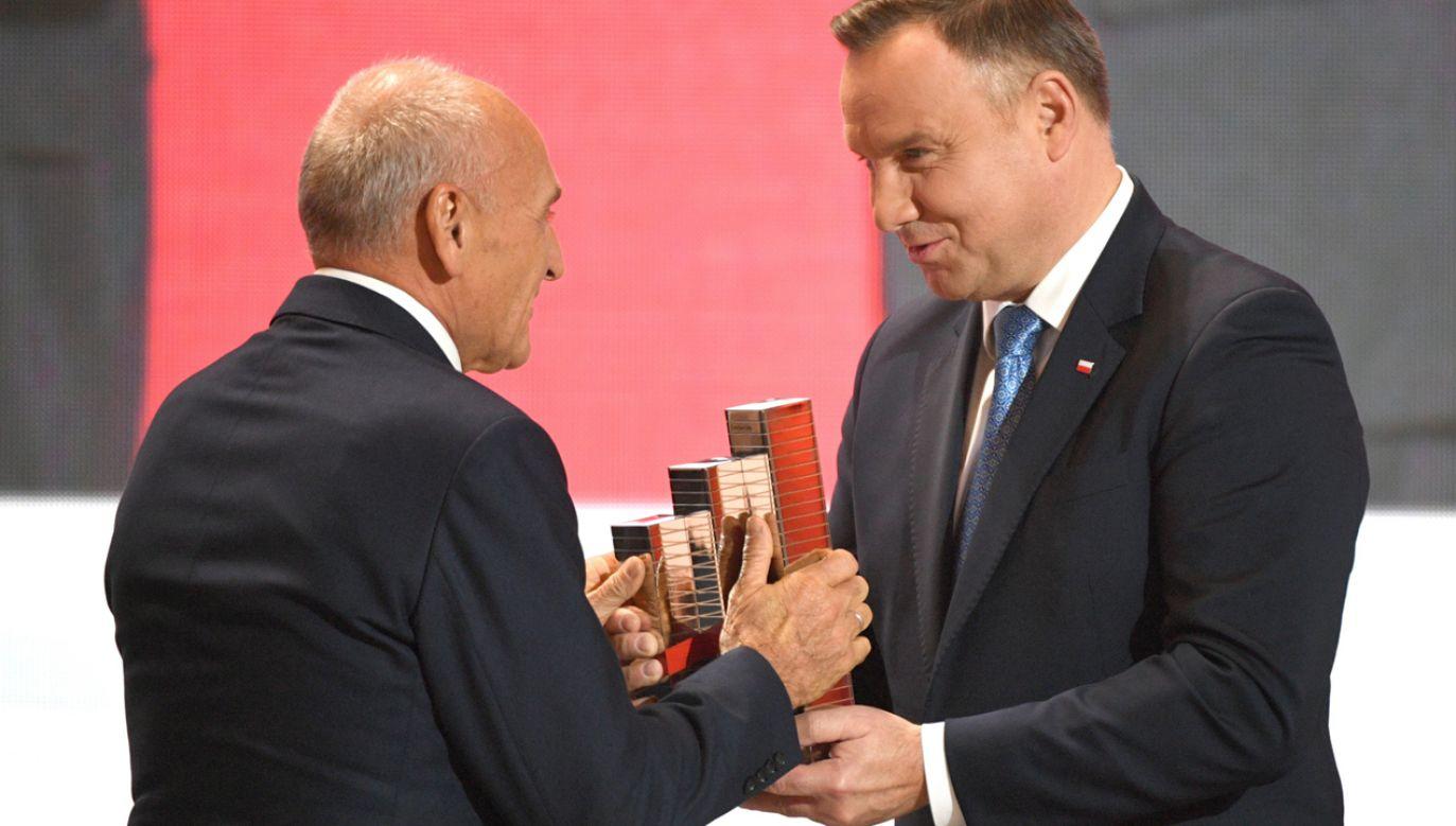 Andrzej Duda wręczył Nagrody Gospodarcze Prezydenta RP (fot.  PAP/Darek Delmanowicz)