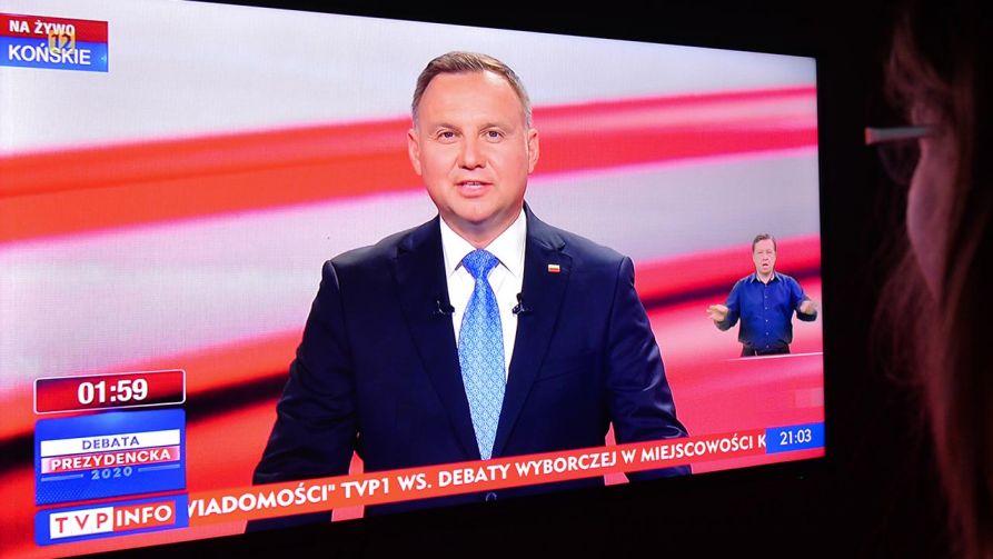 Najwięcej - 3,64 mln - widzów transmisję oglądało w TVP1 (fot. Artur Widak/NurPhoto via Getty Images)