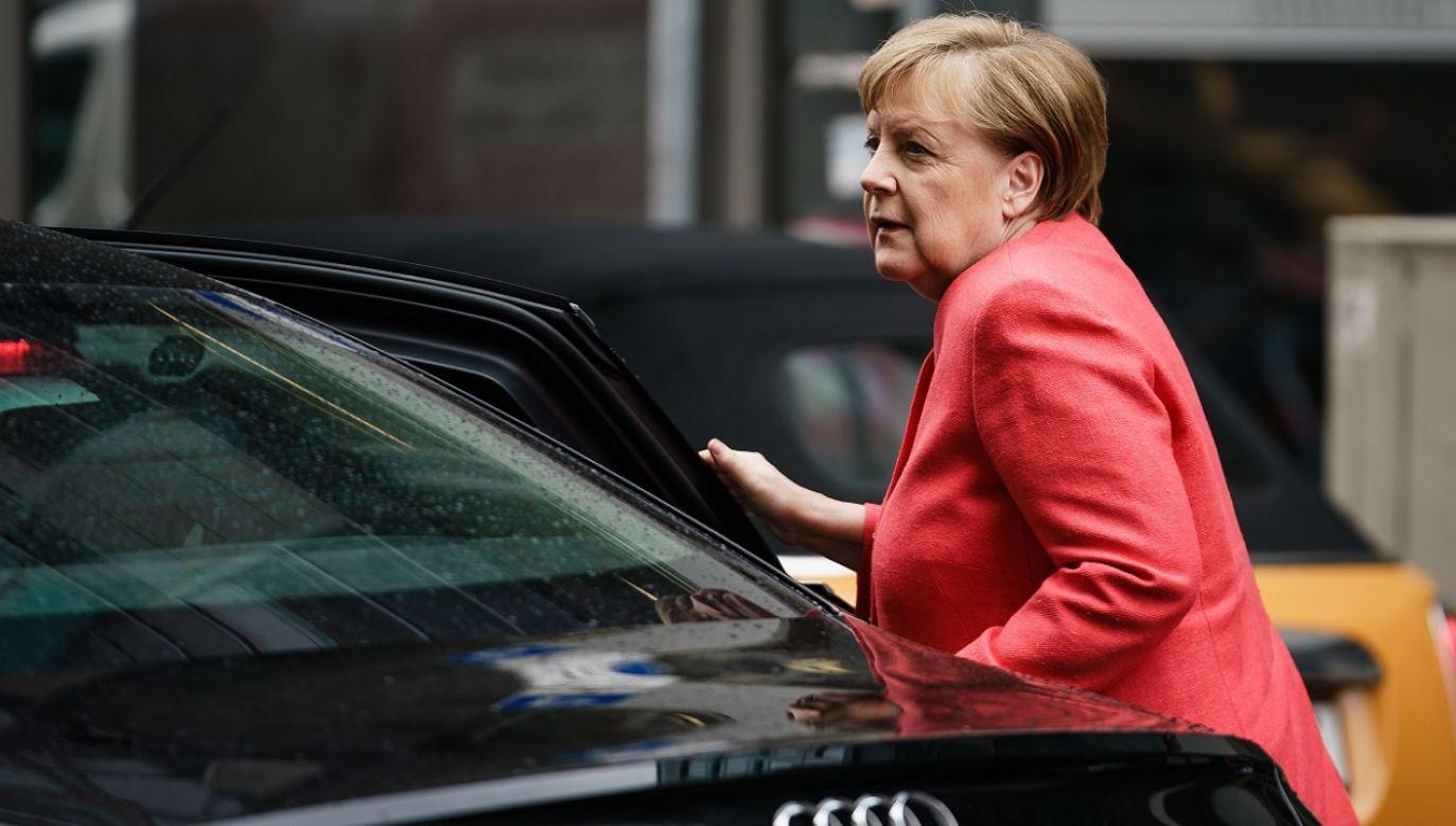 Według Merkel dobre wyniki sondażowe dotyczą całej Unii (fot. PAP/EPA/Clemens Bilan)