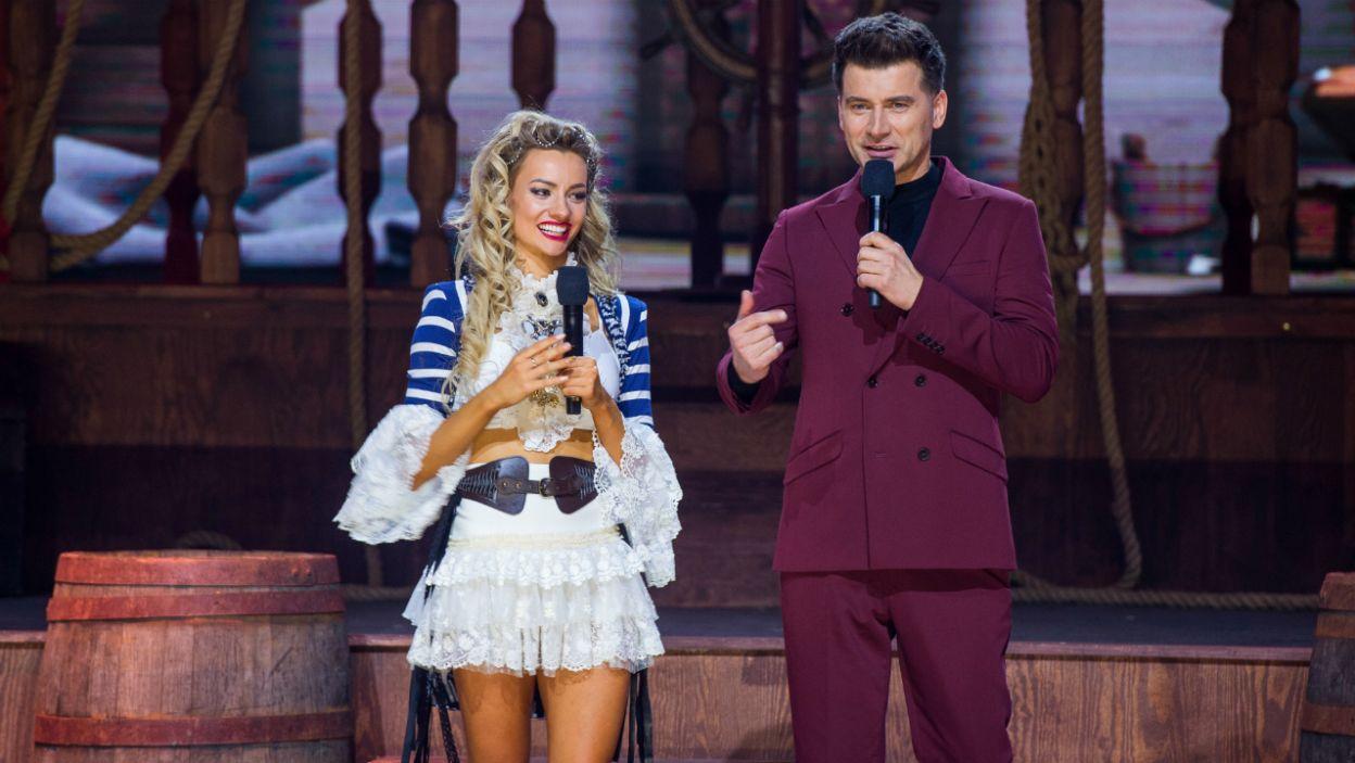 Jurorzy wysoko ocenili ten występ. – Masz niesamowite predyspozycje do tańca – mówiła Ida Nowakowska, przyznając jednocześnie 8 punktów (fot. TVP/ W. Kompała)