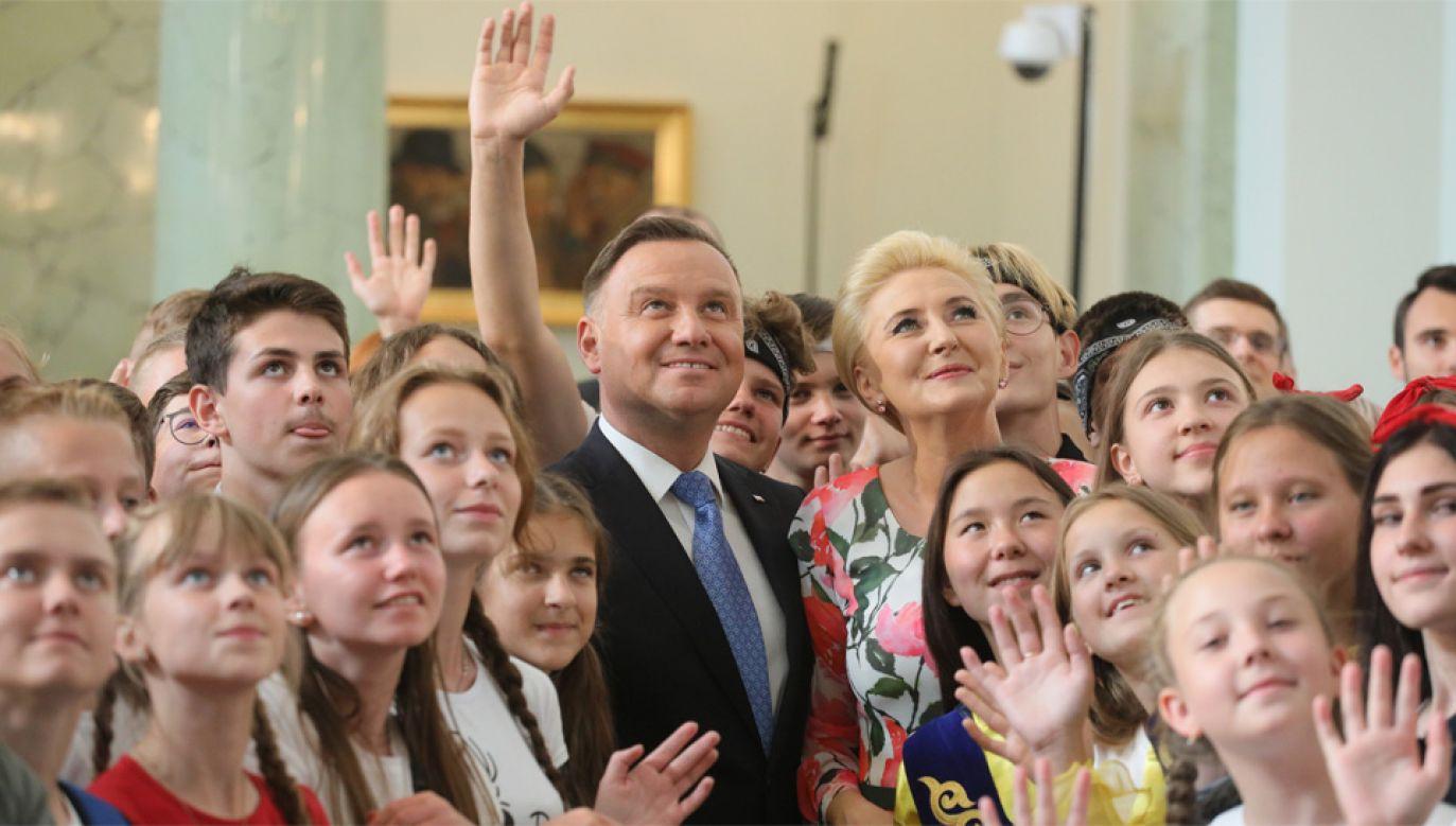 Agata Kornhauser-Duda nie oczekuje pensji za pełnienie funkcji pierwszej damy (fot. PAP/Paweł Supernak)