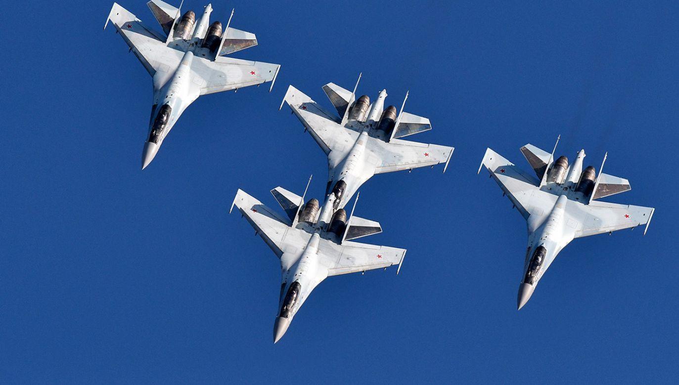 Su-35 to myśliwiec generacji 4++, nie jest odpowiednikiem F-35 (fot. Yuri Smityuk\TASS via Getty Images)