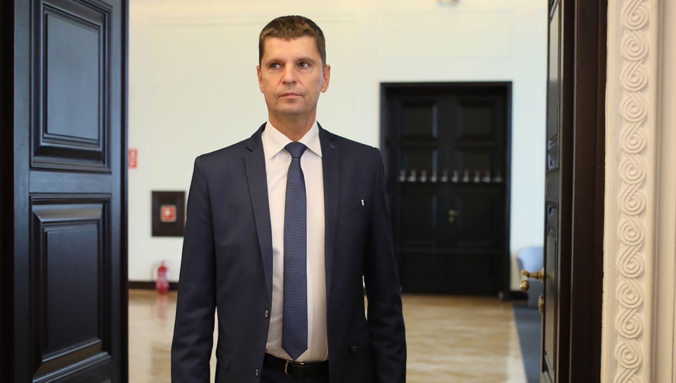 Piontkowski, minister edukacji narodowej  (fot.arch.PAP/Leszek Szymański)