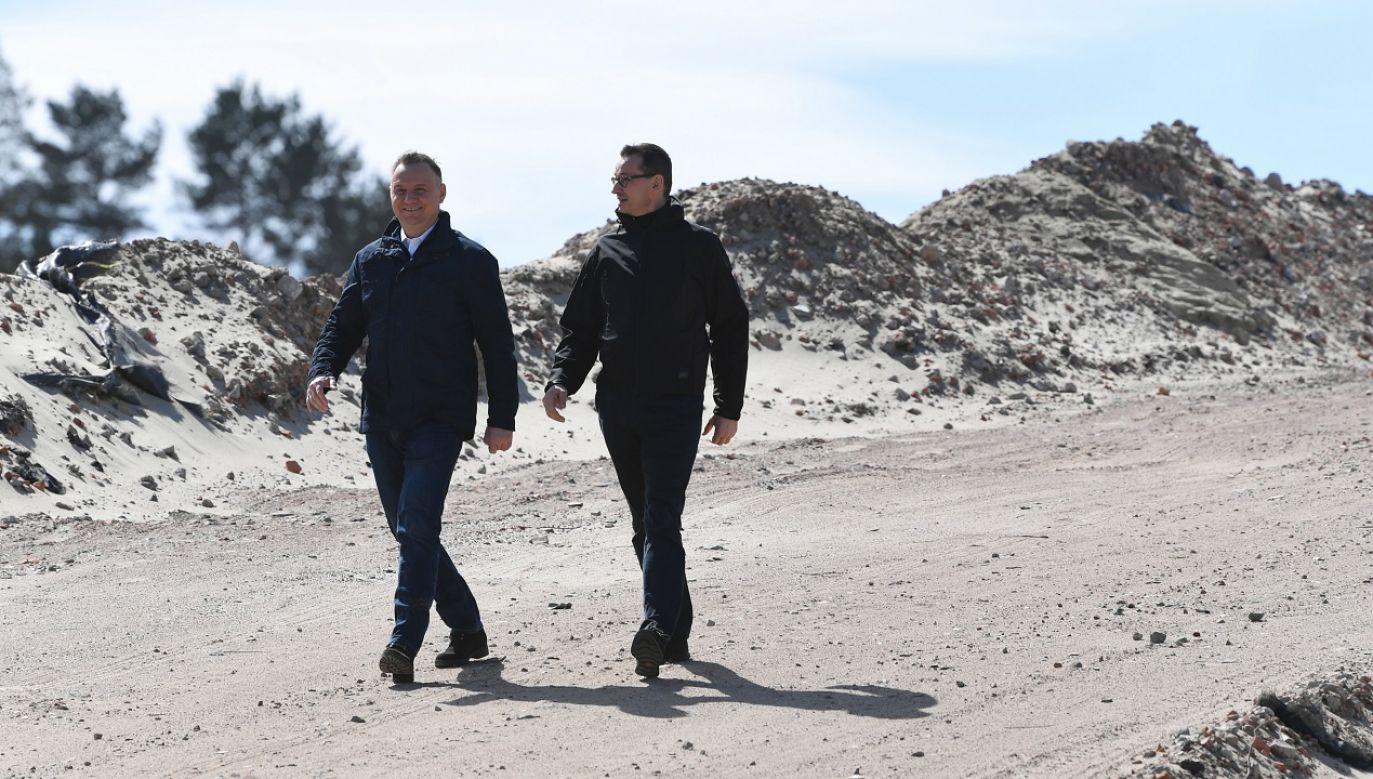 Jan Grabiec zasugerował, że Duda i Morawiecki pójdą do więzienia za realizację inwestycji niekorzystnej dla Rosji  (fot. PAP/Adam Warżawa)