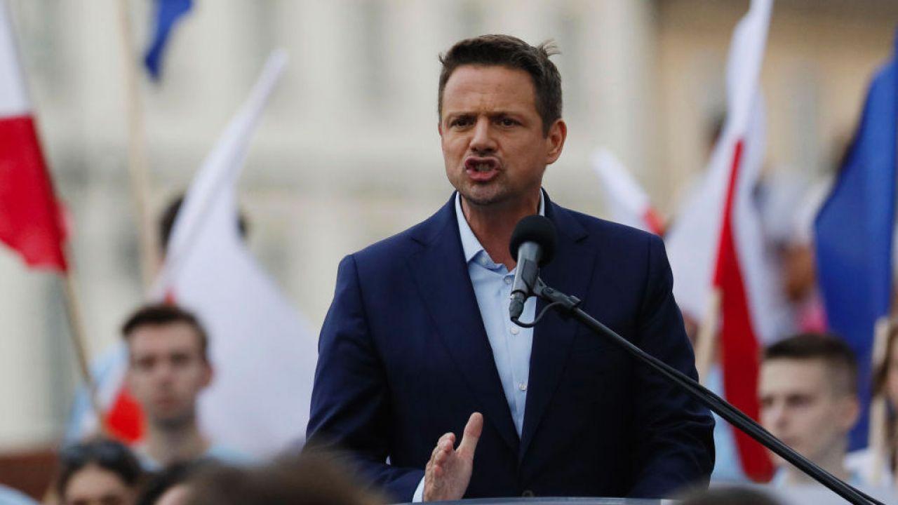 Wybory prezydenckie 2020. Rafał Trzaskowski (fot. Piotr Malecki/ Getty Images)