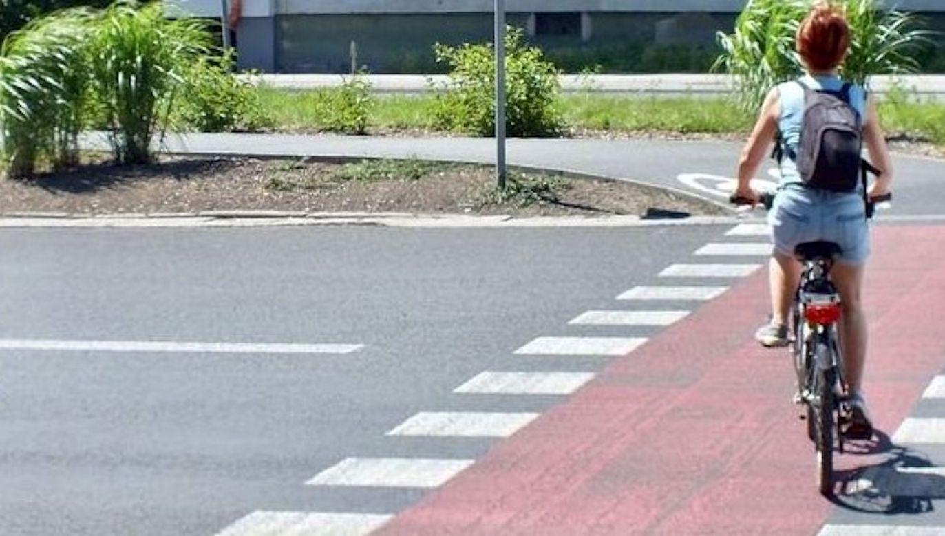 Do zderzenia doszło 30 września 2020 roku. ok. godz. 7, na ul. Bonarka w Krakowie w kierunku ul. Głogowskiej (fot. policja.pl, zdjęcie ilustracyjne)