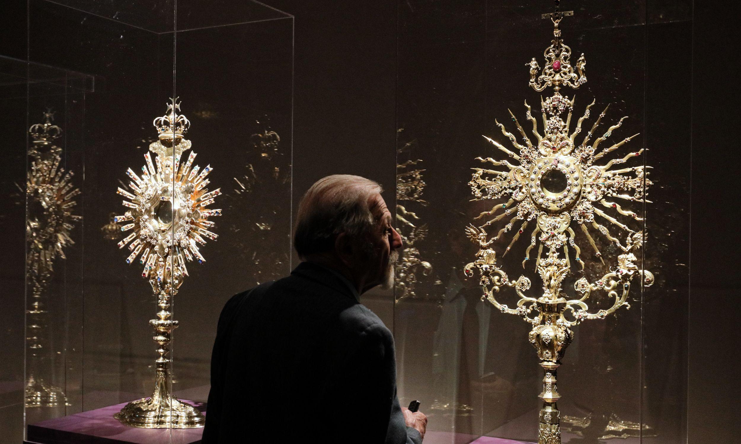 Najbogatszymi zbiorami może poszczycić się klasztor na Jasnej Górze. Fot. PAP/Paweł Supernak