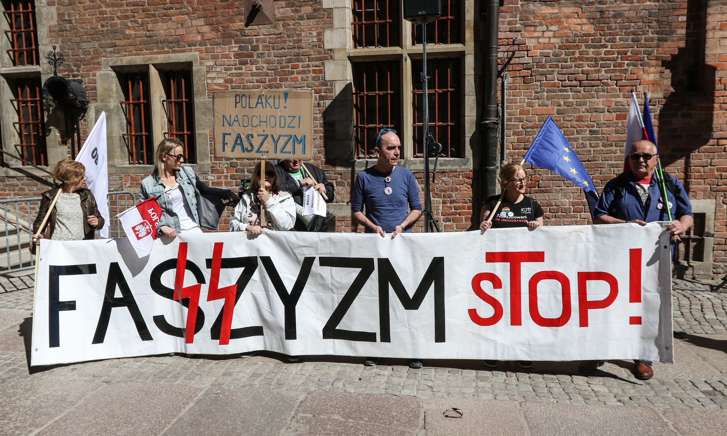 Gdańsk, 21 kwietnia 2018. Fot. Michal Fludra/NurPhoto via Getty Images