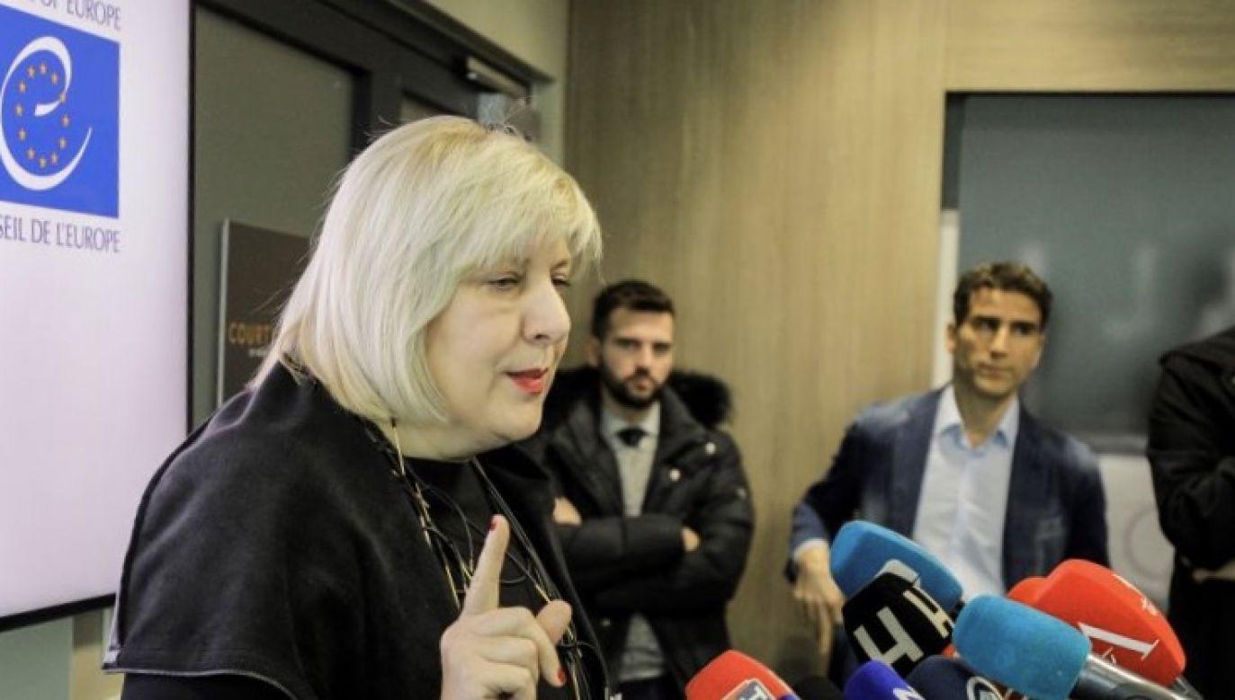 """Wiceminister ocenił, że było to """"brutalne wejście w polski porządek prawny"""" (fot. Samir Yordamovic/Anadolu Agency via Getty Images)"""
