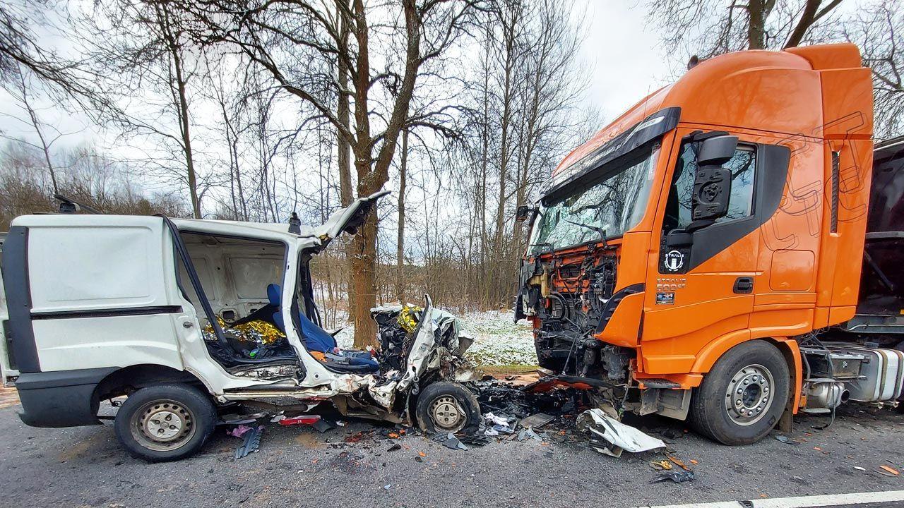 W wypadku zginęły dwie osoby (fot. Policja)